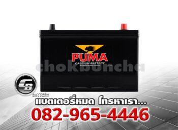 ราคาแบตเตอรี่รถยนต์ Puma 115D31R SMF Front