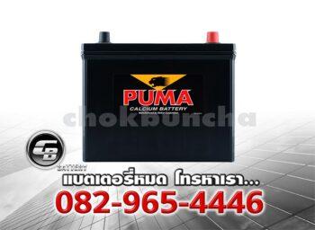 ราคาแบตเตอรี่รถยนต์ Puma 75B24R SMF Front