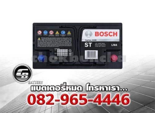 Bosch Battery AGM LN4 DIN80 Top