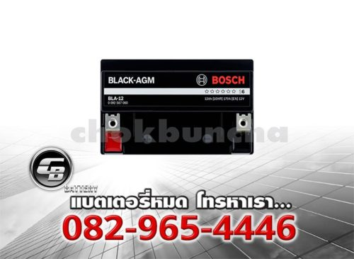 Bosch Battery AUX Auxiliary AGM Top