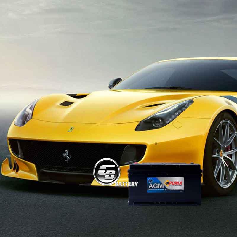 แบตเตอรี่ PUMA for Ferrari
