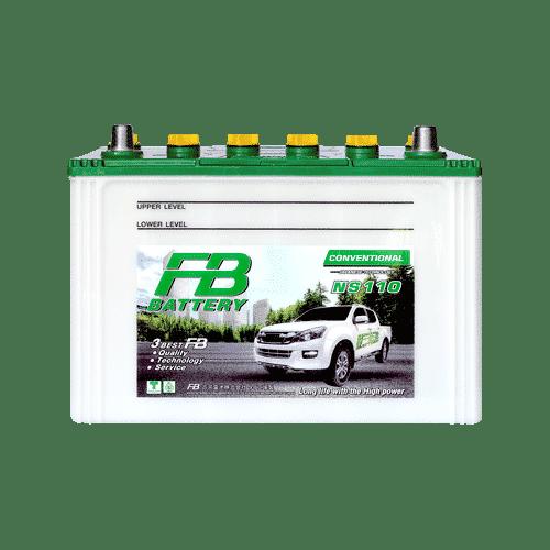 ราคาแบตเตอรี่รถยนต์ FB Battery NS110