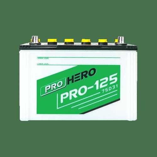 ราคาแบตเตอรี่รถยนต์ FB Pro Hero 125L