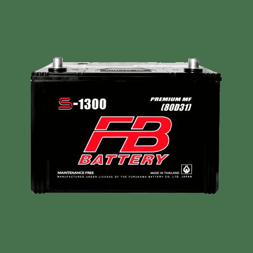 ราคาแบตเตอรี่รถยนต์ FB S-1500 L MF