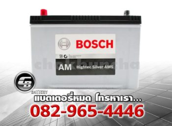Bosch Battery AM 130D31L Hightec Silver AMS Front