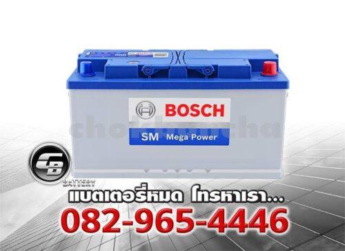 ราคาแบตเตอรี่ Bosch DIN100 SMF BV