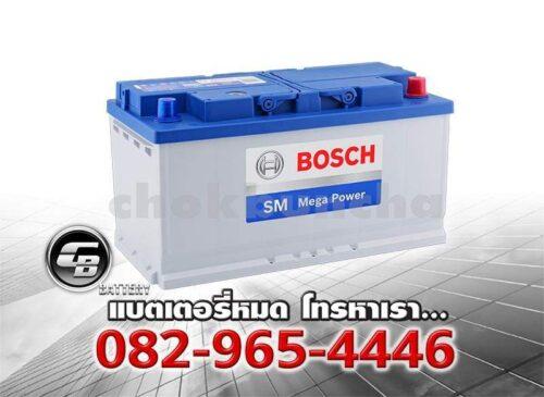 ราคาแบตเตอรี่ Bosch DIN100 SMF Per