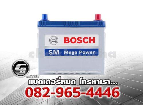 แบตเตอรี่รถยนต์ Bosch 80D23L SMF - front