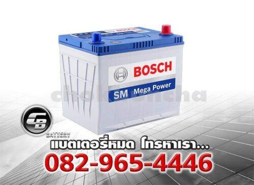 แบตเตอรี่รถยนต์ Bosch 80D23L SMF - side