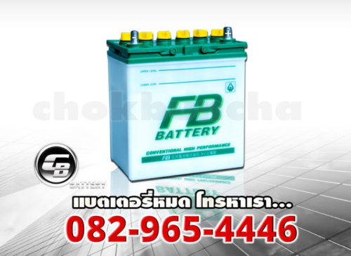 FB Battery NS40ZL - side