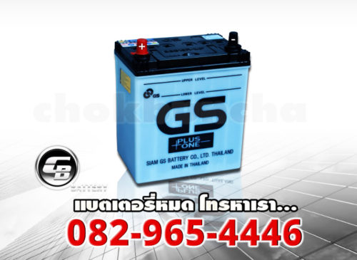 ราคา battery GS 38B19R MF-side