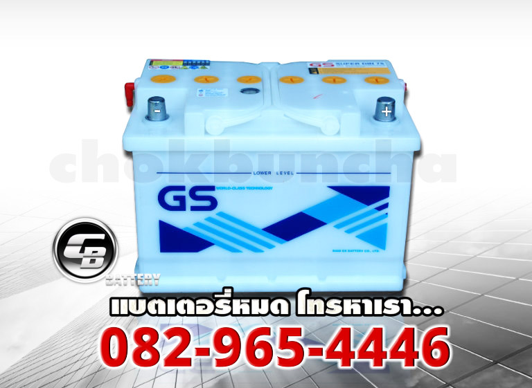 GS Battery SuperDin75