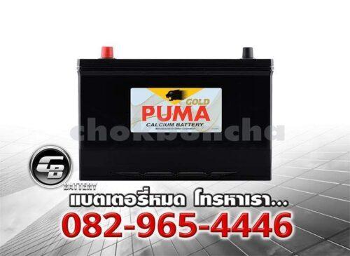 ราคาแบตเตอรี่รถยนต์ Puma 105D31L SMF Front