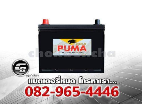 ราคาแบตเตอรี่รถยนต์ Puma 80D23L SMF Front
